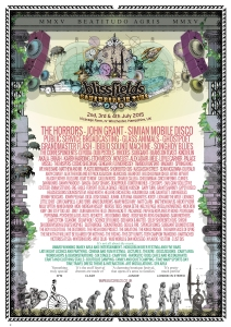 Blissfields 2015 A4 Poster 3rd announce WEB